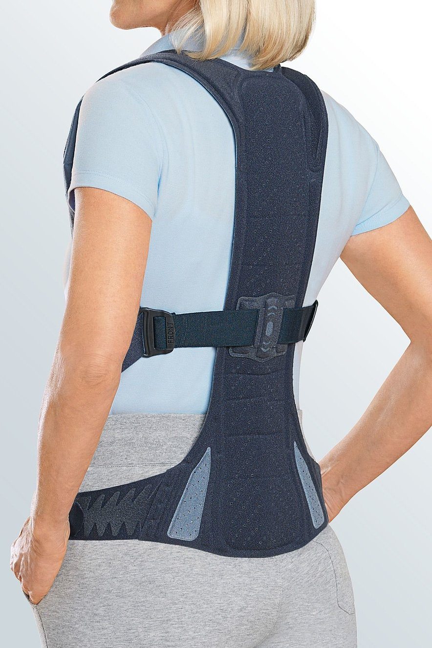 Spinomed®'s strap system and back brace