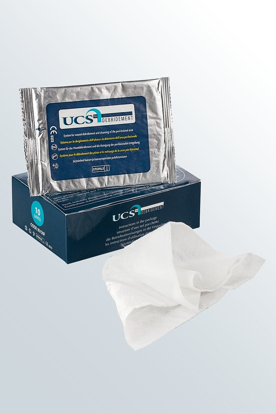 UCS Debridement – the wound debridement system from medi - UCS Debridement – the wound debridement system from medi