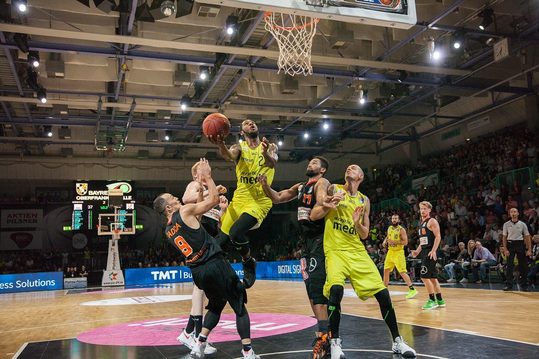 medi bayreuth basketball game