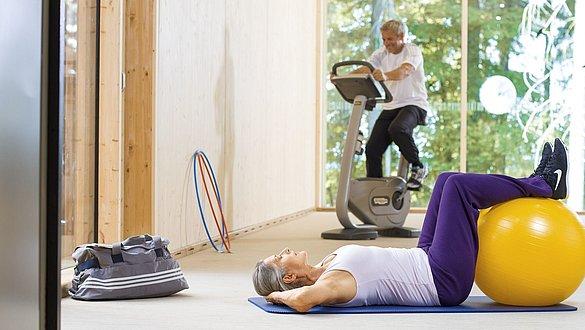Training tips for the elderly - Training tips for the elderly