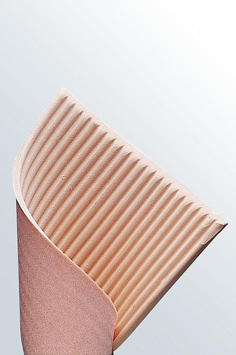 ribbed lymph pad medical