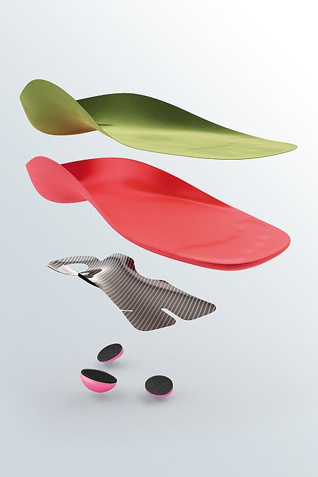 igli Juniorindividual carbon insoles for children composition