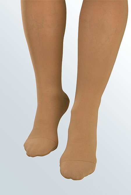 Soft toe models for compression stockings from medi