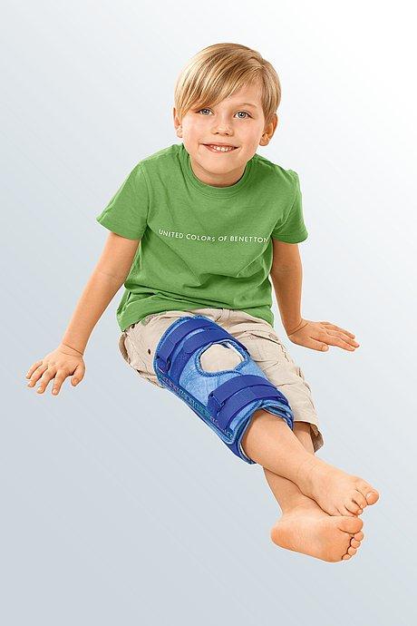splint immobilization knee cap kids