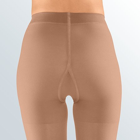 Pantyhose with compressive panty top from medi