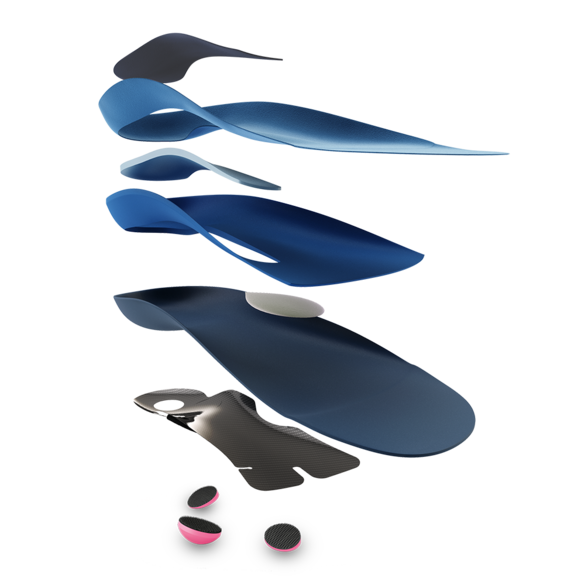 Functional insoles from medi