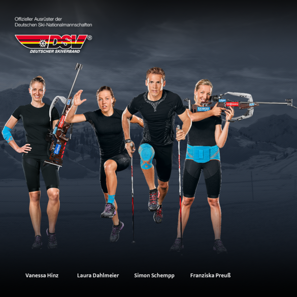 DSV-Biathleten vertrauen auf E⁺motion®