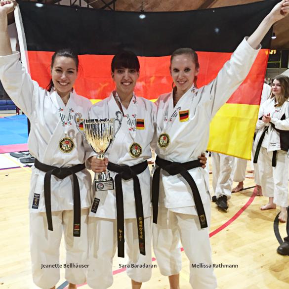 Karateka Jeannette Bellhäuser