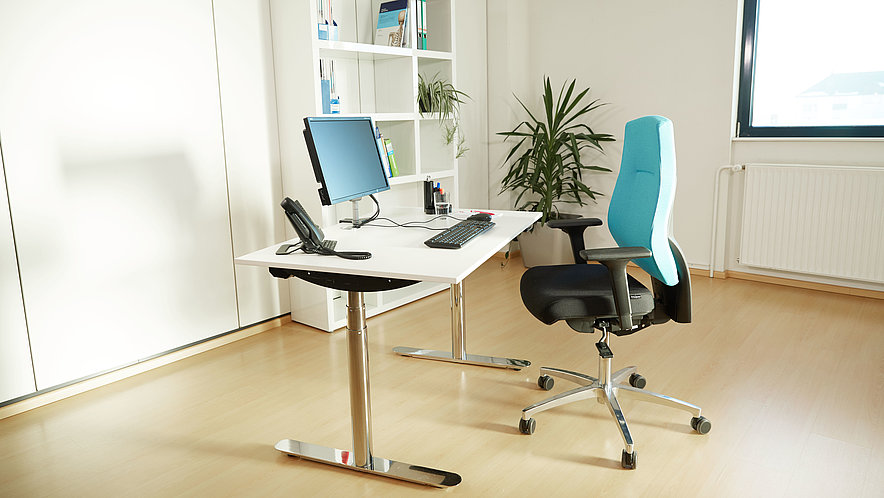 Setting up of an ergonomic workplace - Setting up of an ergonomic workplace