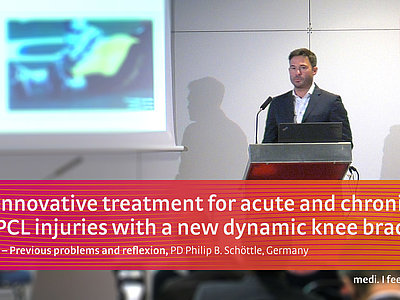 M.4s® PCL dynamic knee brace medi workshop at ESSKA