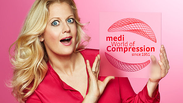 Barbara Schöneberger medi World of Compression