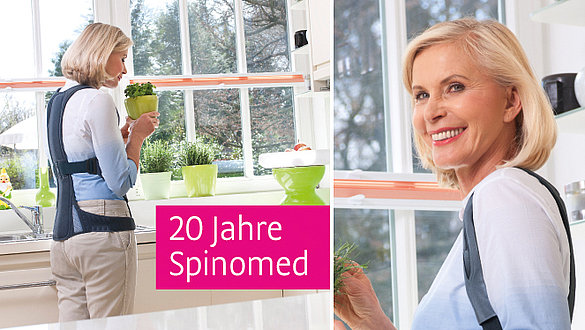 Spinomed Rückenorthese 20 Jahre Jubiläum - Spinomed Rückenorthese 20 Jahre Jubiläum