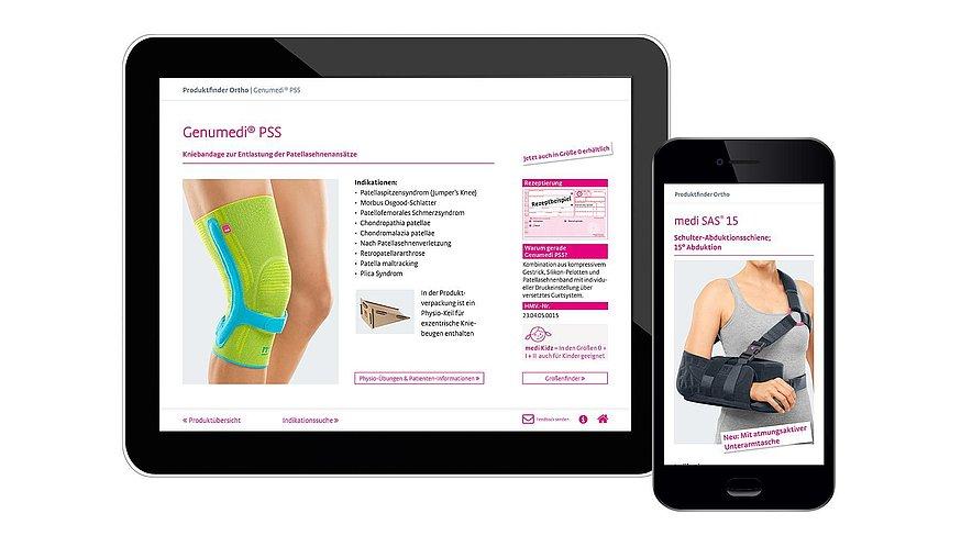 Ärzte-App: Produktfinder Ortho - Ärzte-App: Produktfinder Ortho