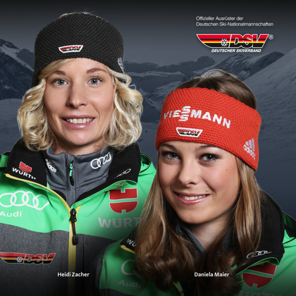Heidi Zacher und Daniela Maier