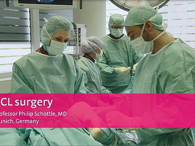 M.4s® PCL dynamic - PCL surgery with Prof. Schoettle, Germany