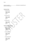 Liste der am Lymphnetz teilnehmenden Leistungserbringer