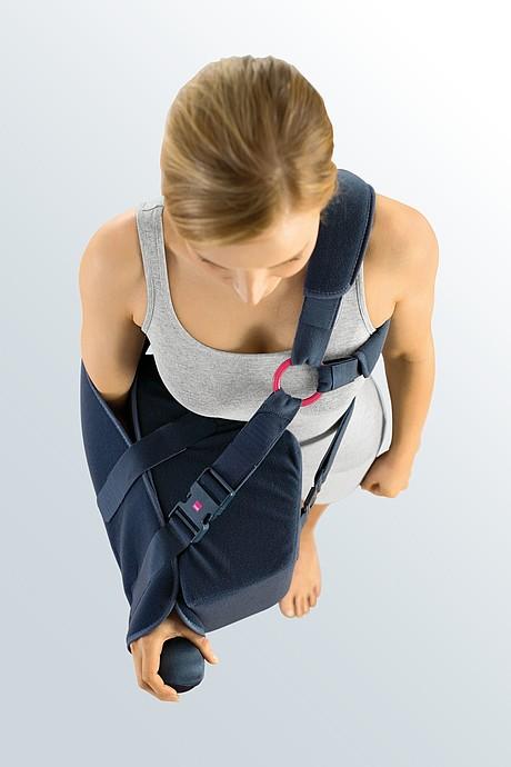medi SLK 90 Schulterluxations-Kissen von oben