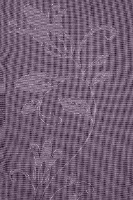 mediven 550 flachgestrickte Kompressionsstrümpfe in lila mit Blumenmuster