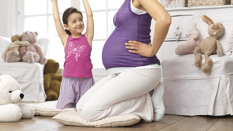 Symphysenschmerzen während der Schwangerschaft