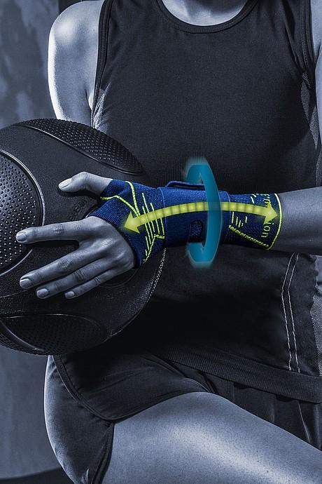 Manumed active E+motion Handgelenkbandagen von medi