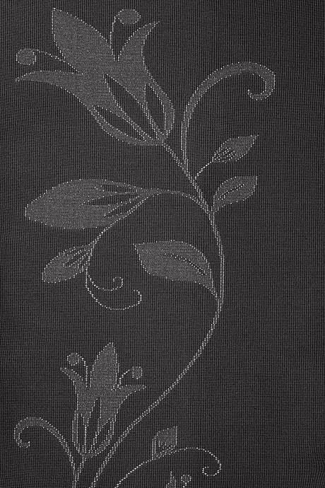 mediven 550 flachgestrickte Kompressionsstrümpfe in grau mit Blumenmuster
