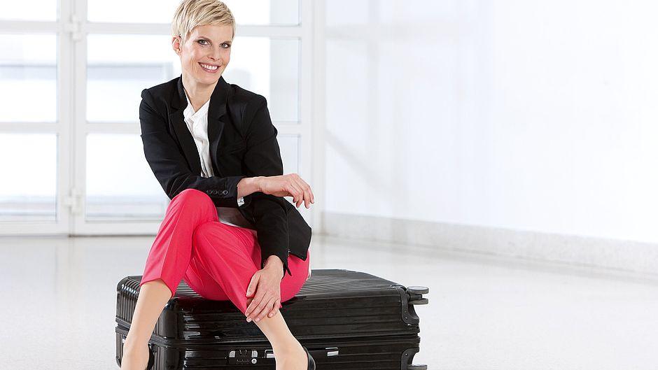 medi travel women Reisestrümpfe Frau Koffer