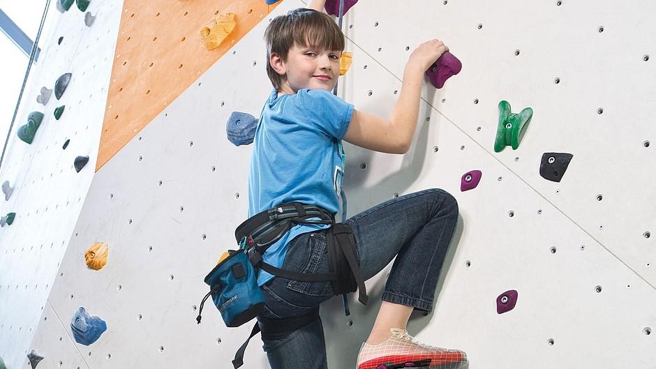 igli Junior Carbon-Einlagen Junge Kletterwand medi