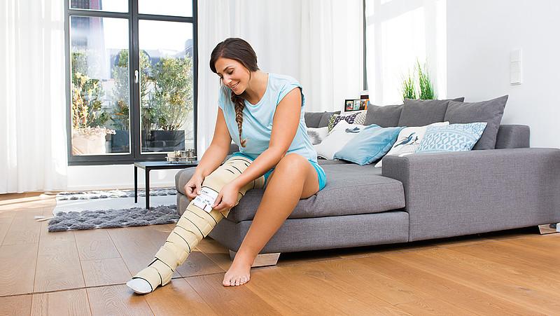 Patient-individual compression