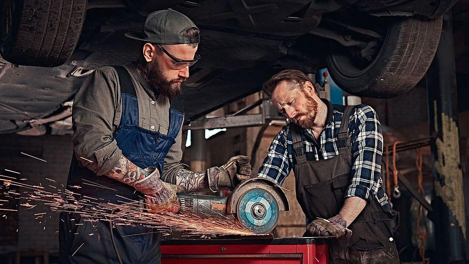 medi CAD secosol Männer arbeiten