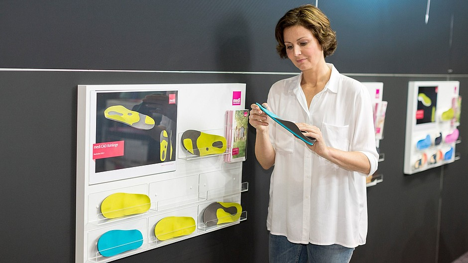 medi CAD Tablar Modell