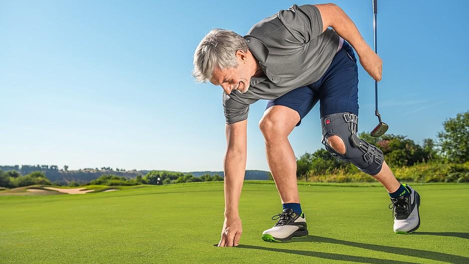 medi soft OA Knieorthese bei Gonarthrose Golf
