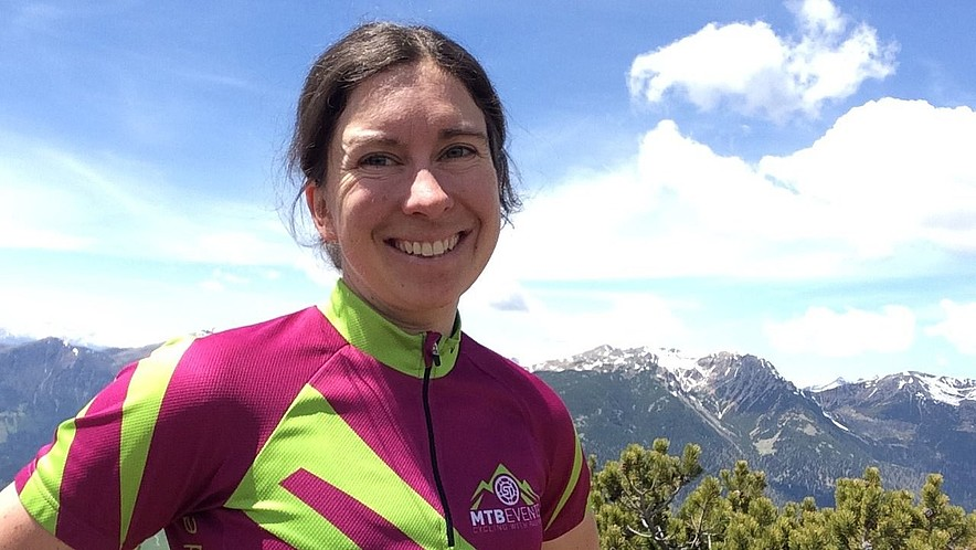 MTBevents Sandra Trautmann Crossing the Alps